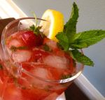 Strawberry Bourbon Lemonade