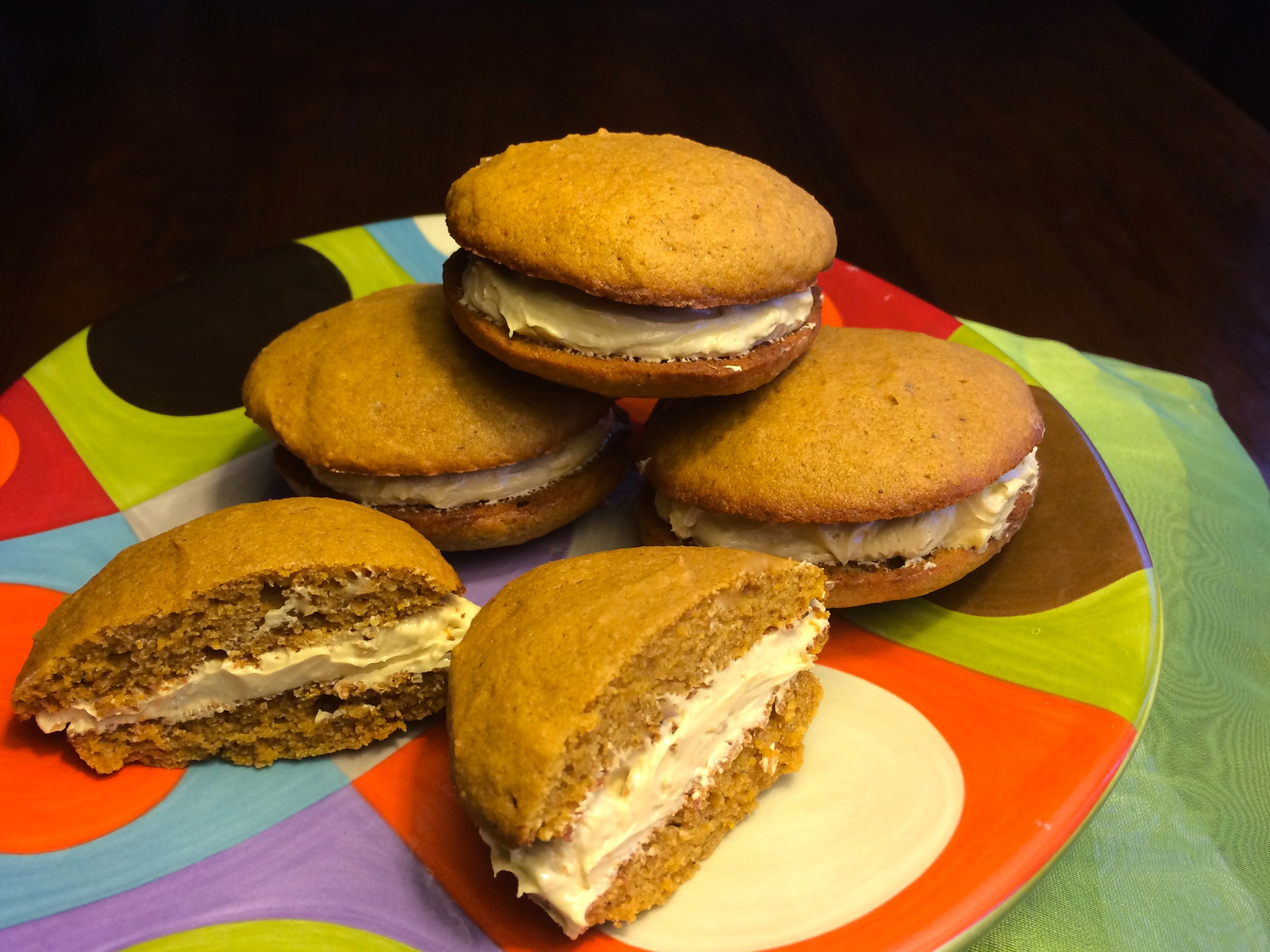 Whoopie Pies with Buttercream