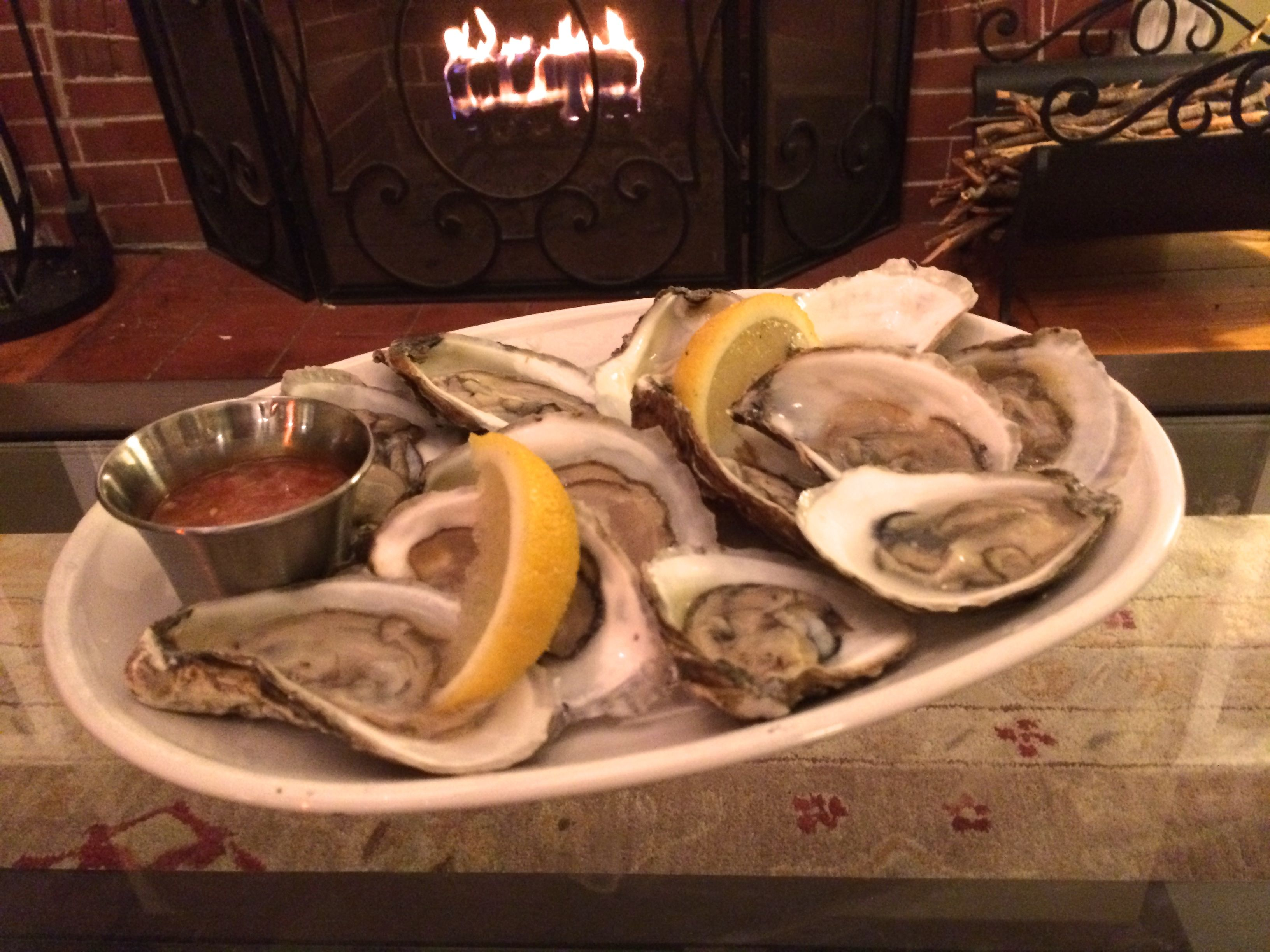 Oysters in Winter