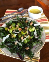 Kale Salad with Dijon Vinaigrette