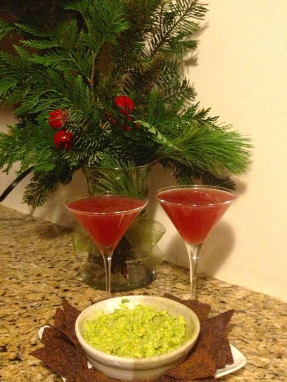 Pomegranate Margarita Martini