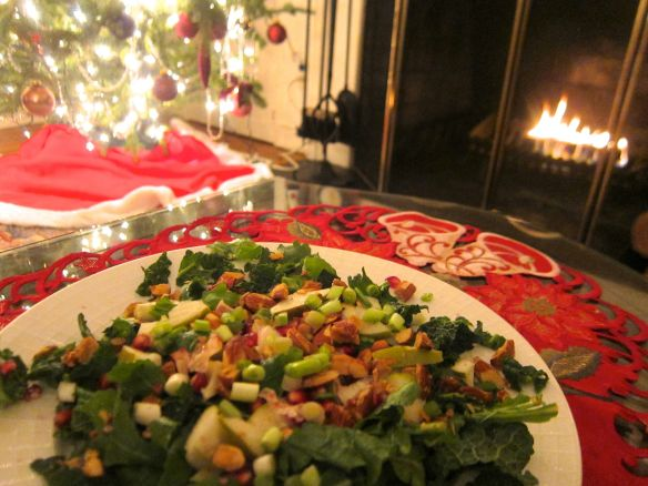 And you thought salad wasn't Christmassy!