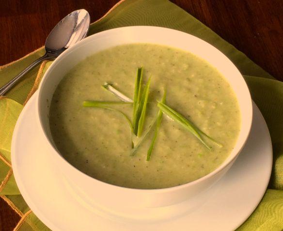 Broccoli Cauliflower Soup | PK Way