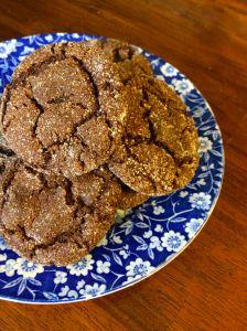 Ginger Molasses Cookies | PKWay