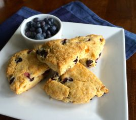 Blueberry Ginger Scone