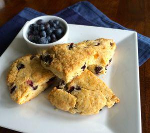 Blueberry Ginger Scone