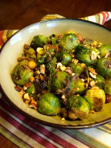 Brussels Sprouts and Caramelized Onions