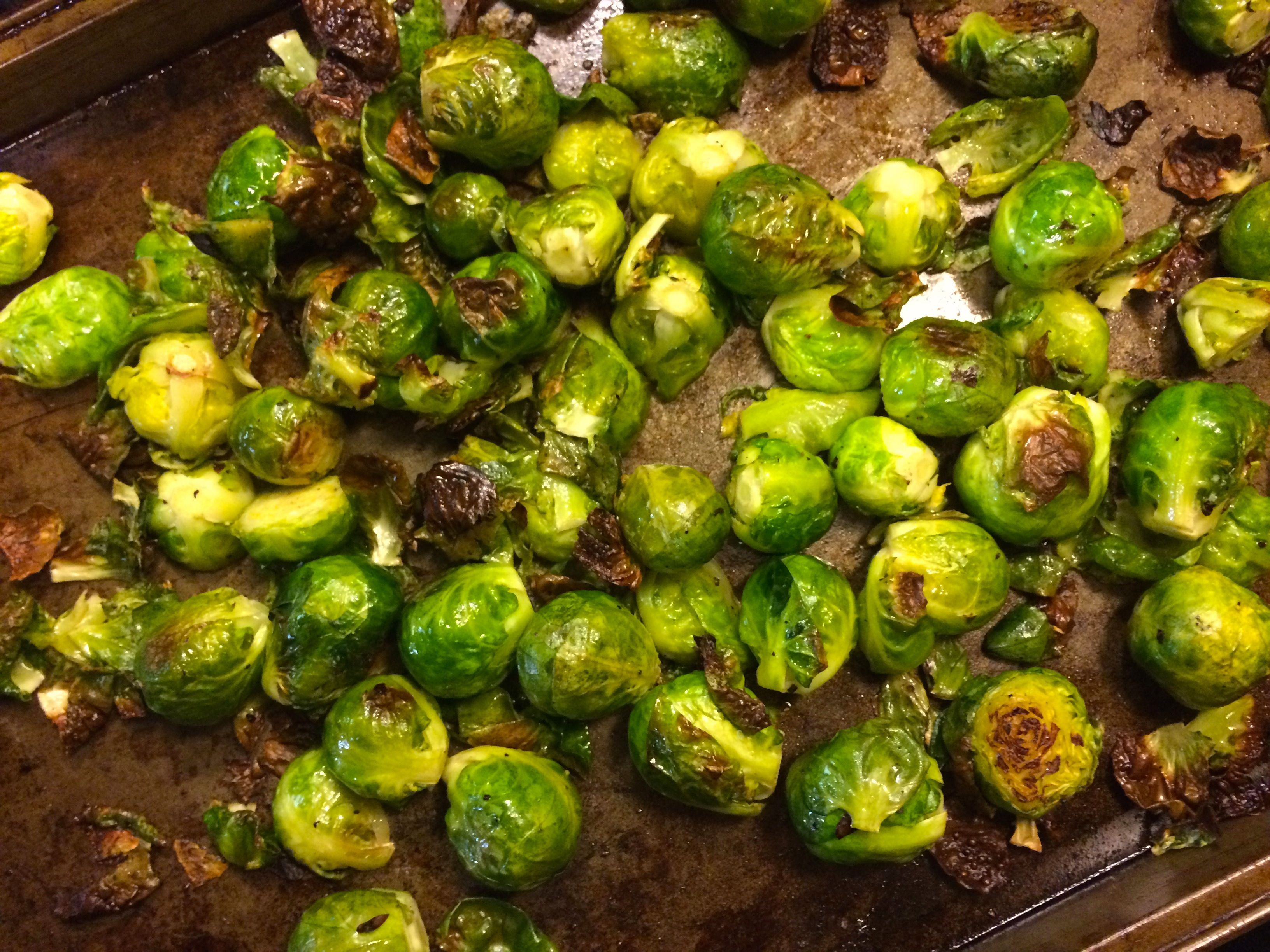 Caramelized Brussels Sprouts With Sherry-Dijon Vinaigrette ...
