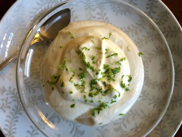 Goat Cheese Cream with Lime Zest | PK Way