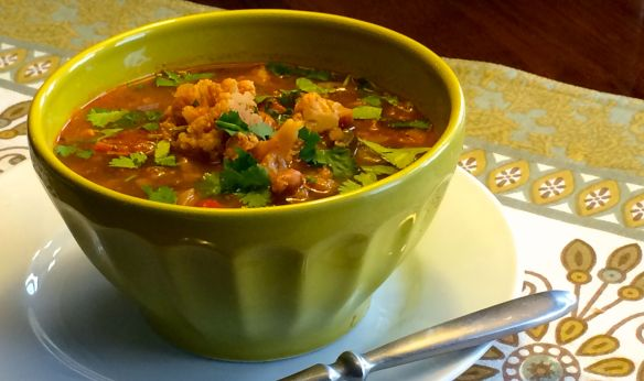 Hearty Mexican Soup | PK Newby