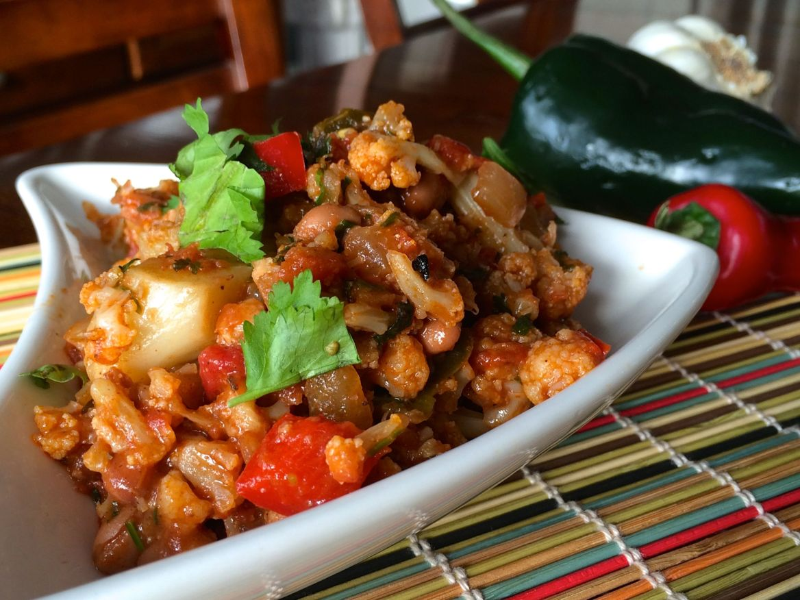 Mexican Cauliflower | PK Newby
