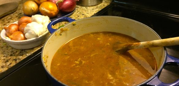 Mexican Soup Broth