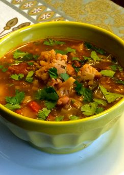 Mexican Cauliflower Soup