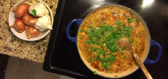 Mexican Vegetable Soup   PK Newby
