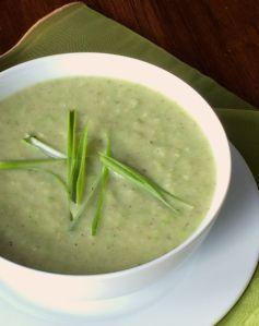 Cauliflower Parsnip Soup | #pkway