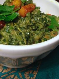 Indian-spiced spinach | #pkway