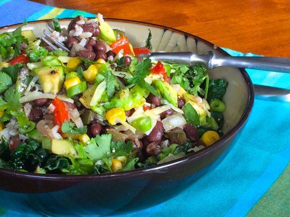Mexican Salad | #pkway